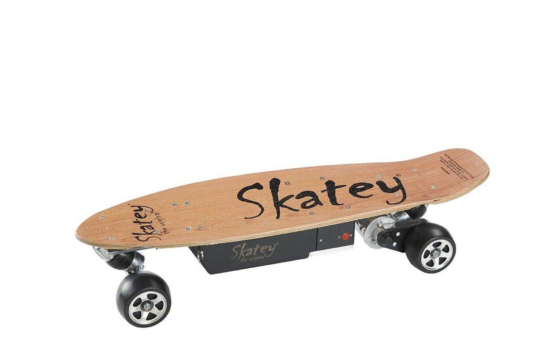 Skatey Electric Skateboard 250 Wood - Pic 1