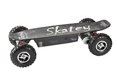 Skatey Electric Skateboard 800 Double Black