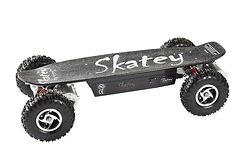 Skatey Electric Skateboard 800 Quatro Black