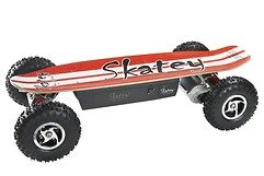 Skatey Electric Skateboard 800 Red White