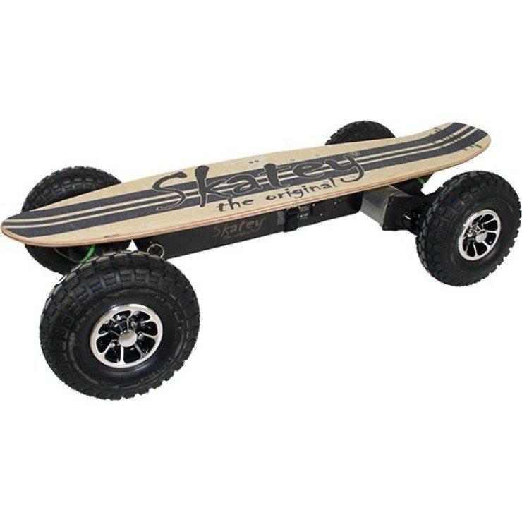 Skatey Electric Skateboard 900 Wood Jeans - Pic 1