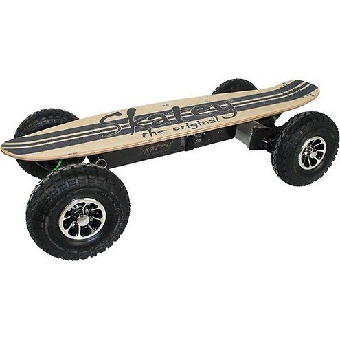 Skatey Electric Skateboard 900 Wood Jeans