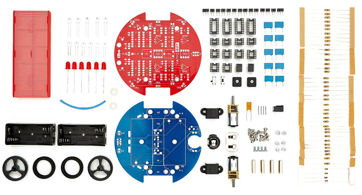 Variobot tinobo Roboter Bausatz - Pic 2