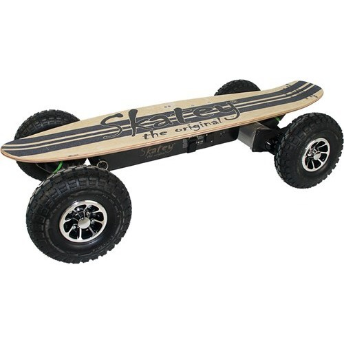 Skatey Electric Skateboard 900 Wood Jeans