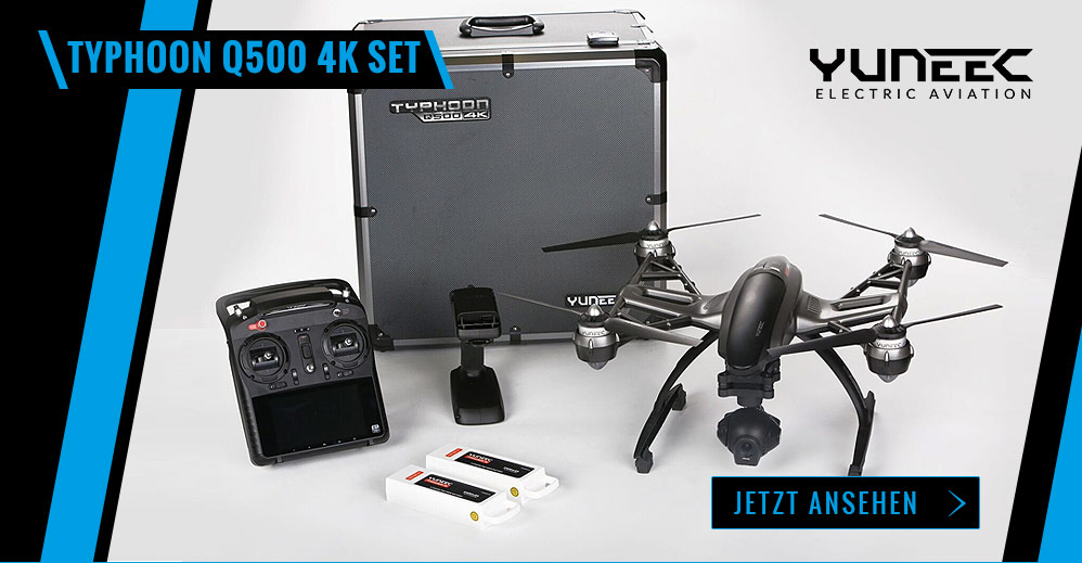Yuneec Q500 4k - Set